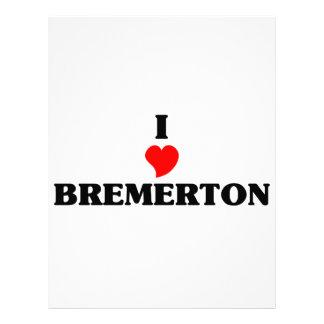 Amo Bremerton Plantillas De Membrete