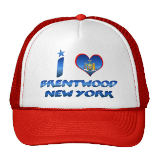 Amo Brentwood, Nueva York Gorros Bordados