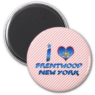 Amo Brentwood, Nueva York Iman Para Frigorífico