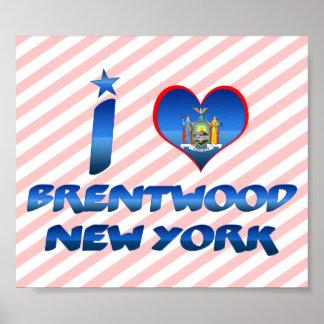 Amo Brentwood, Nueva York Impresiones