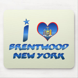 Amo Brentwood, Nueva York Alfombrillas De Ratones
