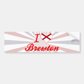 Amo Brewton, Alabama Pegatina De Parachoque
