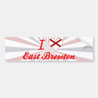 Amo Brewton del este, Alabama Pegatina De Parachoque