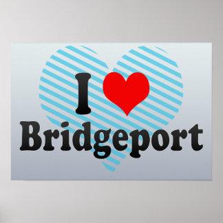 Amo Bridgeport, Estados Unidos Posters
