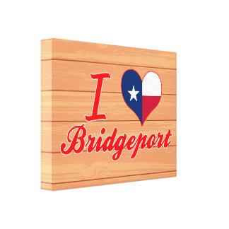 Amo Bridgeport, Tejas Lona Envuelta Para Galerías