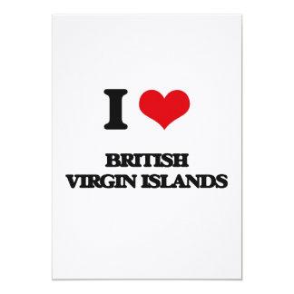 Amo British Virgin Islands Invitacion Personal