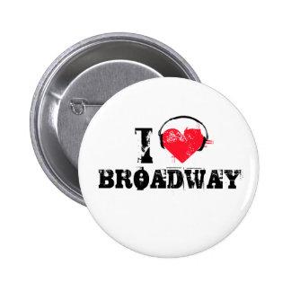 Amo broadway pin redondo 5 cm