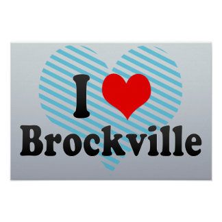 Amo Brockville Canadá Impresiones