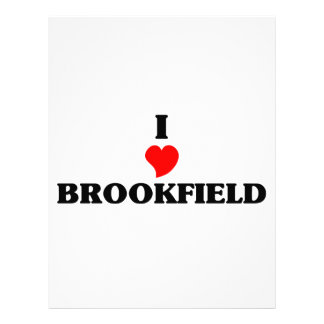 Amo Brookfield Plantilla De Membrete