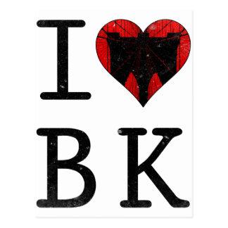 Amo Brooklyn BK Nueva York Postal