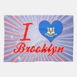Amo Brooklyn, Connecticut Toallas De Mano