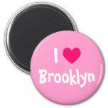 Amo Brooklyn Imán Redondo 5 Cm