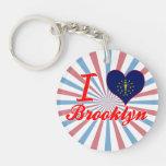 Amo Brooklyn, Indiana Llavero