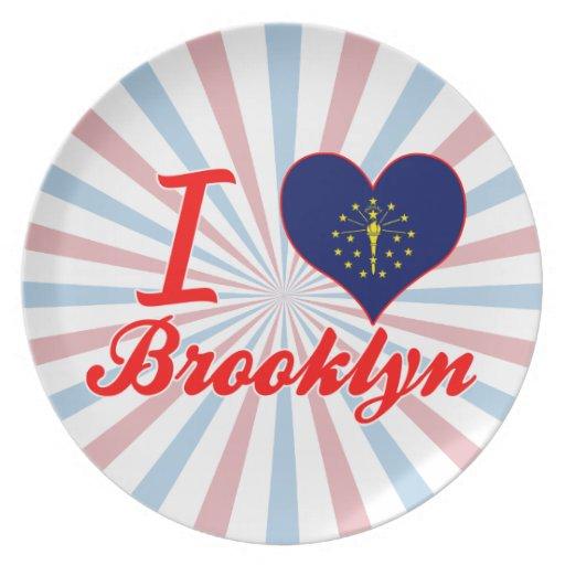 Amo Brooklyn, Indiana Plato De Cena