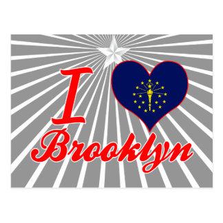 Amo Brooklyn Indiana Postales