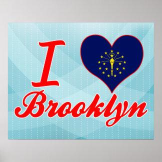 Amo Brooklyn, Indiana Póster