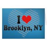 Amo Brooklyn, NY Felicitación