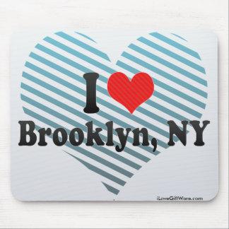 Amo Brooklyn, NY Tapetes De Ratones