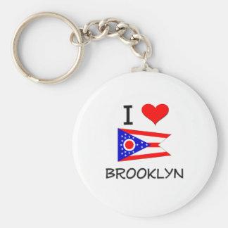 Amo Brooklyn Ohio Llaveros