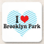 Amo Brooklyn Park, Estados Unidos Posavasos De Bebida