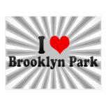 Amo Brooklyn Park, Estados Unidos Tarjeta Postal