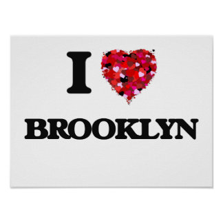 Amo Brooklyn Póster