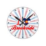 Amo Brookside, Colorado Reloj De Pared