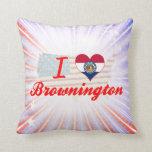 Amo Brownington, Missouri Almohada