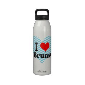 Amo Brunswick del este Estados Unidos Botella De Beber