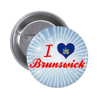 Amo Brunswick, Nueva York Pin