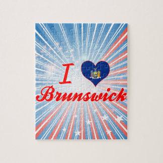 Amo Brunswick, Nueva York Puzzles Con Fotos