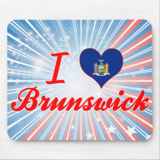Amo Brunswick, Nueva York Alfombrillas De Ratones