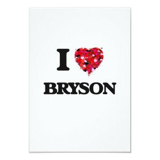 """Amo Bryson Invitación 3.5"""" X 5"""""""