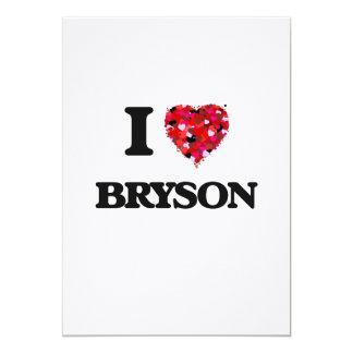 """Amo Bryson Invitación 5"""" X 7"""""""