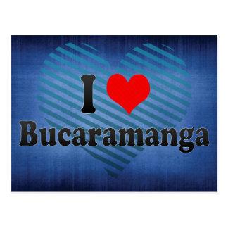 Amo Bucaramanga, Colombia Tarjeta Postal