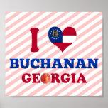 Amo Buchanan, Georgia Poster