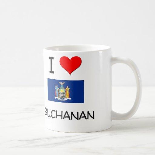 Amo Buchanan Nueva York Tazas