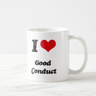 Amo buena conducta taza