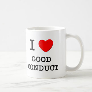 Amo buena conducta taza de café