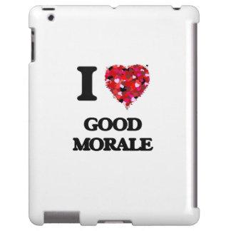 Amo buena moral funda para iPad