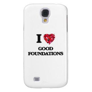 Amo buenas fundaciones funda para galaxy s4