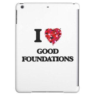 Amo buenas fundaciones