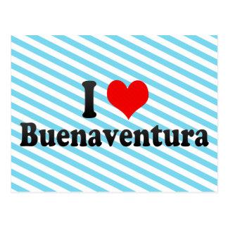 Amo Buenaventura, Colombia Tarjeta Postal