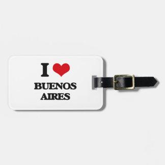 Amo Buenos Aires Etiqueta De Maleta