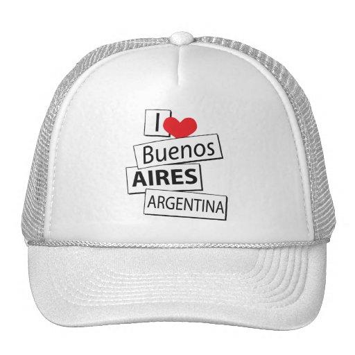 Amo Buenos Aires Gorro De Camionero