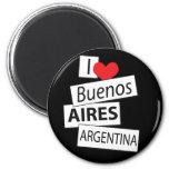 Amo Buenos Aires Imán Para Frigorífico