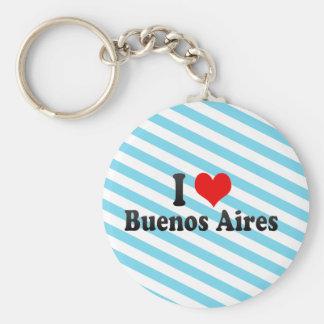 Amo Buenos Aires, la Argentina Llavero Personalizado