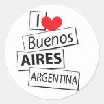Amo Buenos Aires Pegatina