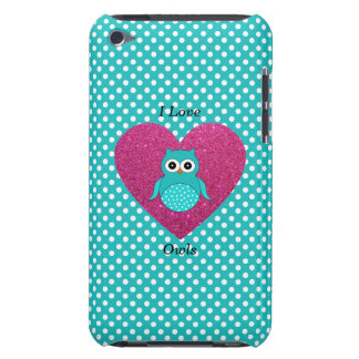 Amo búhos iPod touch Case-Mate protectores