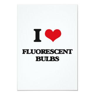 AMO bulbos fluorescentes Invitacion Personal